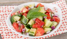 Fresh Tomato & Cucumber Salad