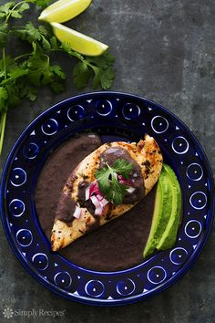 Grilled Lime Chicken with Black Bean Sauce on SimplyRecipes.com