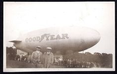 The Good Year Blimp back in the day