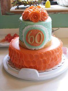 60th Birthday Cake - *
