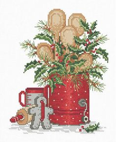 Winter Time - Cross Stitch Pattern