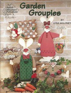 Garden Groupies Decorative Tole Painting Craft Book