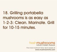 Day 18 of National Mushroom Month calls for a celebration of the portabella. What's your favorite mushroom to celebrate? #WFD2012 #IAmVegetable