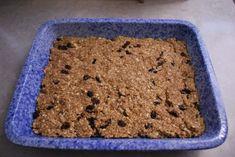 baked granola bars