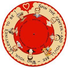 Spin the Center Valentine