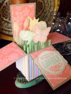 Spring in a Box! A Fun Fold-Out Card