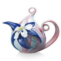 Franz Porcelain Teapots.
