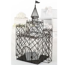 This Castle Card Box is perfect for the fairy tale wedding!