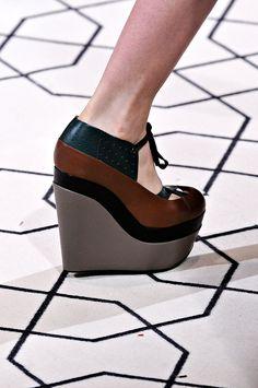 tri color, superhigh wedg, three color, platform shoes, color wedg
