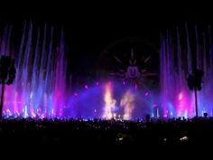 ▶ Full Winter Dreams: World of Color new holiday show at Disney California Adventure - YouTube