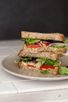 Greek avocado sandwich recipe