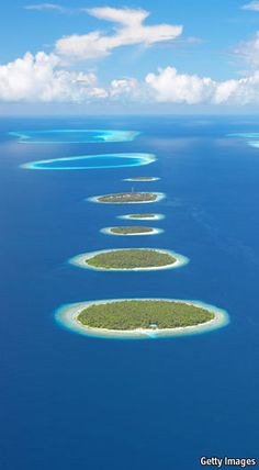 Islands in the Maldives