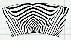 svg zebra file for 16 oz. tumbler.