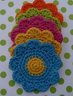 Flower Coaster - Free Pattern