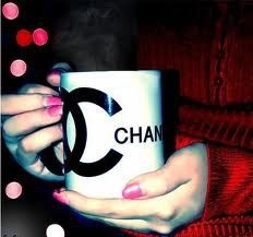 Chanel coffee cup<3