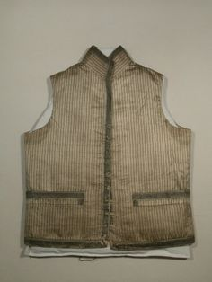 Waistcoat  National Trust Inventory Number 1349040 Date	1790 - 1800 Collection	Snowshill Wade Costume Collection, Gloucestershire (Accredited Museum)