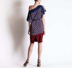 Michel Klein SS2013 Tunic Dress #ModeWalk #luxury #fashion #MichelKlein #tunic #dress #print tunic dress