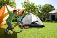 Camping In Your Own Backyard