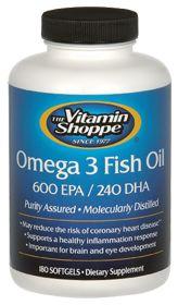 Health fitness on pinterest for Vitamin shoppe omega 3 fish oil