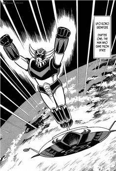 Goldorak (UFO Robot Grendizer 1) Manga