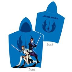 Star Wars Anakin & Obi Wan Hooded Towel