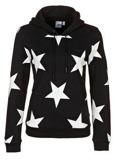 adidas Originals CS STAR HOODIE - Hoodie - black