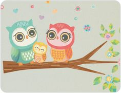 Owl Wall Stickers | Owl Decals from Bright Star Kids