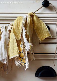 simple fabric buntin