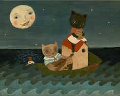 Nursery Art Children's Art Children's Decor Poster by thelittlefox, $8.00
