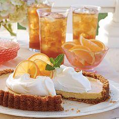 Desserts for Entertaining | Sweet Tea Icebox Tart | SouthernLiving.com