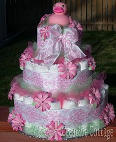 How to make this diaper cake