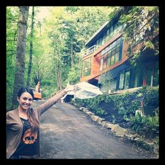 """my trip to the """"cullen"""" house in Portland, OR ....twilight"""