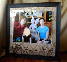 custom magnetic memo board . . . turn a photo into a magnet board