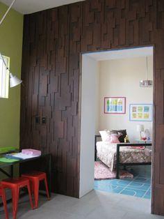Pormenor de decoração de parede em quarto infantil | Eu Decoro