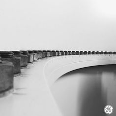 These fasteners are what keep our wind turbine segments together. Photo taken by Chris Warren at the Cape Code Instawalk.