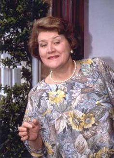 Patricia Routledge as Hyacinth Bucket (bouquet)
