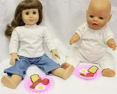 Mae play food for your dolls on the embroidery machine - by Hatched in Africa
