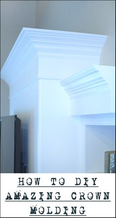 How To Do Crown Molding Yourself