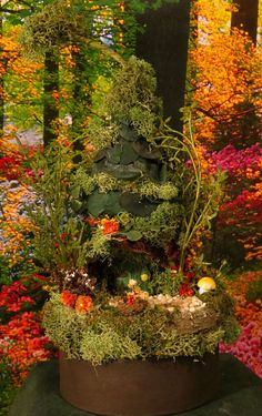 Fairy House In The Woodlands Miniature by WoodlandFairyVillage, $34.99