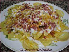 La Cocina de Mar Entulínea: Bacon & Chesser Fries