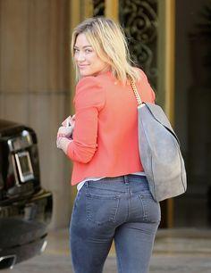 Hilary Duff skinny jeans booty