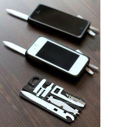 taskone: swiss army knife iPhone case