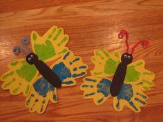 Preschool Crafts for Kids*: Spring Butterfly Handprint Craft, Go To www.likegossip.com to get more Gossip News!