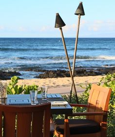 At Four Seasons Resort Hualalai at Historic Ka'upulehu, every meal comes with a view.