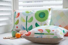 Spring Dan300 cushions via WeeBirdy.com. dan300, cushion idea