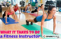 How to Become a Group Fitness Instructor | via @SparkPeople #fitness #workout