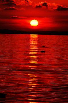 amaz sunset, sunsets