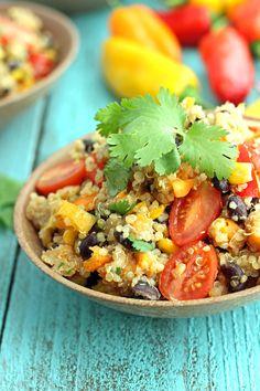 Detox Quinoa Veggie Salad