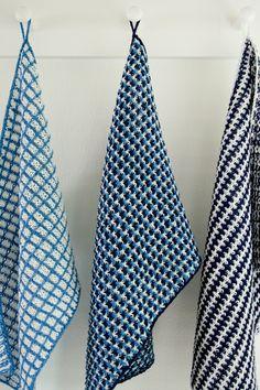 slip stitch dishtowels - free knitting pattern! these are just gorgeous!!!