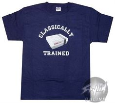 Nintendo Classically Trained  T-Shirt $19.88